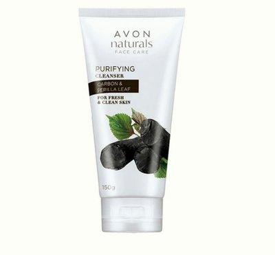 AVON雅芳深層潔淨洗面乳@黑碳泡泡深入潔淨,毛孔洗乾淨。
