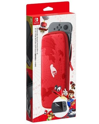 Nintendo Switch NS 超級瑪利歐 奧德賽 任天堂原廠 主機收納包 含螢幕保貼 新品