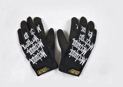 全新真品 美軍公發 Mechanix High-Dexterity Gloves 全指手套 黑底白字