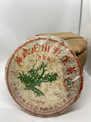 =楓香堂= 2006年中茶 綠大樹 易武野生茶 特級品 知名茶評浮雲推薦