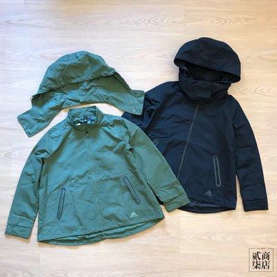 (貳柒商店) adidas Fem Jacket 女款 防風 外套 防潑水 保暖 黑色 DX7198 綠色 DX7197