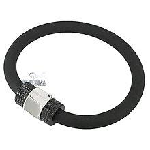 【錶飾精品】Calvin Klein CK 飾品 KJ4JBB2901 316L白鋼+黑色橡膠 男性 手環