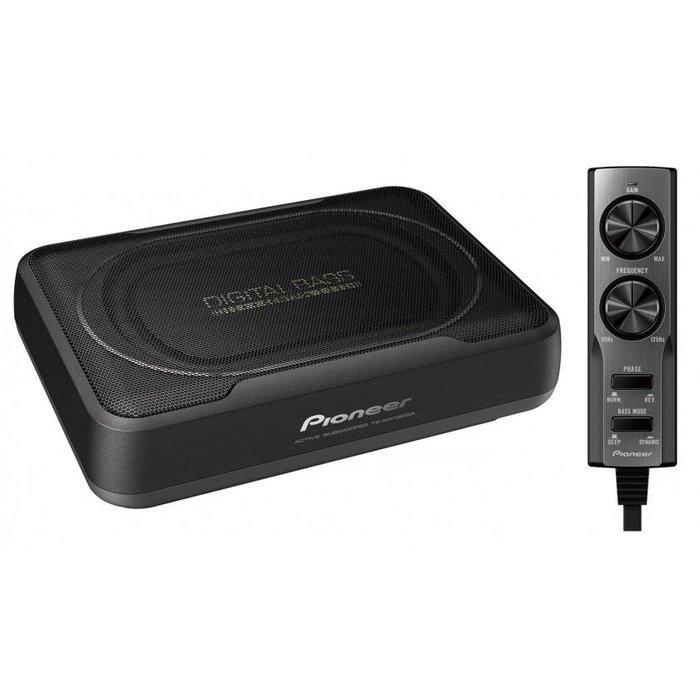 【Pioneer】TS-WX130DA 薄型主動式重低音喇叭(平行輸入)