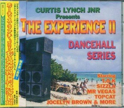 (甲上唱片) CURTIS LYNCH JNR - THE EXPERIENCE II - DANCEHALL SERIES - 日盤