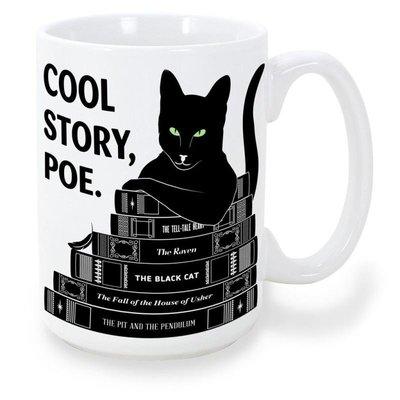 美國進口文學馬克杯 Obvious State 創意咖啡杯陶瓷水杯
