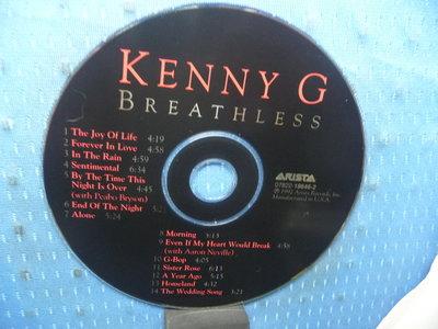 [無殼光碟]KL  KENNY G  BREATHLESS MADE IN USA