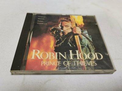 昀嫣音樂 (CD2) ROBIN HOOD PRINCE OF THIEVES 原聲帶 片況如圖 售出不退 可正常播放