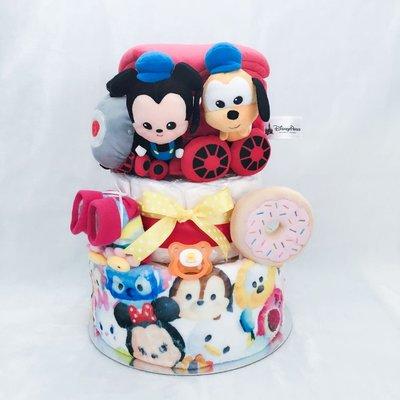 迪士尼Tsum Tsum 尿片蛋糕