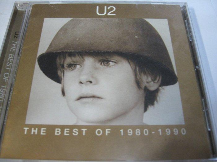 U2合唱團 跨世紀精選 The Best of 1980-1990 自藏CD 附中文側標及解說 1998年出品
