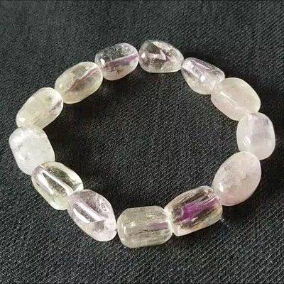 紫鋰輝 孔賽石 隨形手珠 手鍊