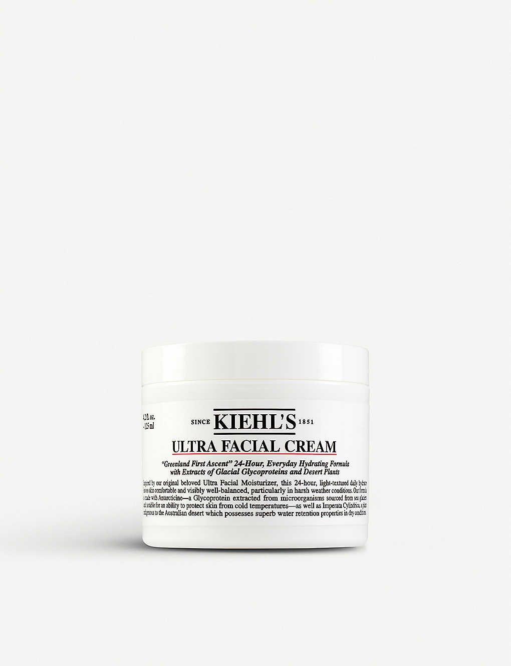 Kiehls 契爾氏 冰河醣蛋白保濕霜 125ml Ultra Facial Cream moisturiser