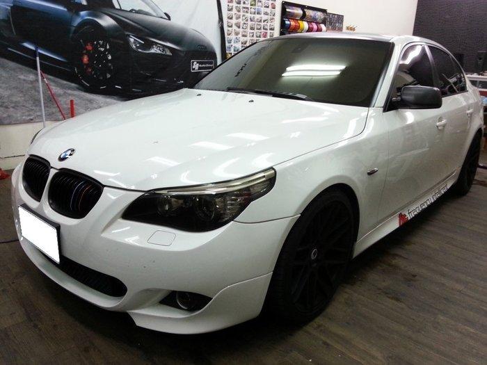 BMW E60 車頂貼膜 車頂包膜 汽車貼膜 520I 528I 535I M5 F10