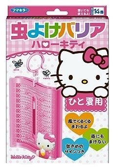 日本Vape Fumakilla Hello Kitty 掛勾式驅蟲片