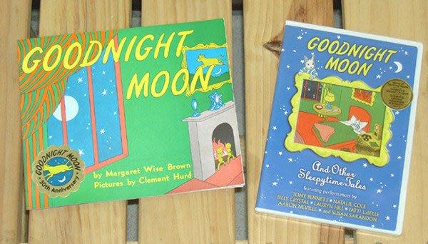 【英語幼兒教育DVD】小pen外文d64*Goodnight Moon 【附溫馨繪本】