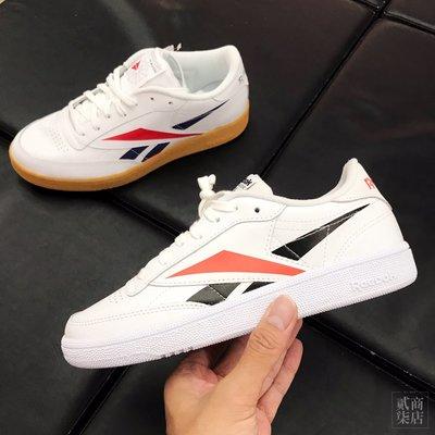 (貳柒商店) Reebok Club C 85 女款 復古 大Logo 休閒鞋 小白鞋 EG1455