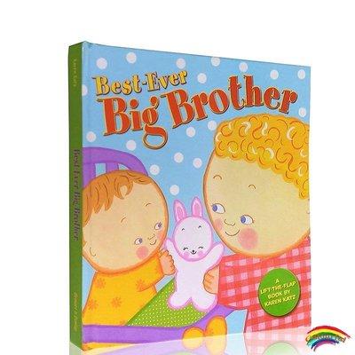 英文原版Best-Ever Big Brother 棒的哥哥Karen Katz翻翻書