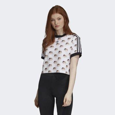 【Dr.Shoes】Adidas Originals X FIORUCCI 女裝 聯名款 短版 短袖T恤 ED0218