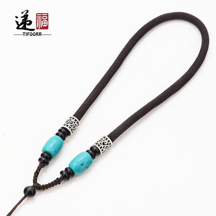 衣萊時尚-5MM粗手把件繩 把玩繩 短繩 套手上的繩 手繩 全國  原創