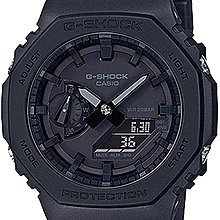 佐敦門市 現貨 100% 全新 Casio G-Shock GA-2100-1A1 農家橡樹 Casioak all black 熱賣 全黑 人氣 一年保養