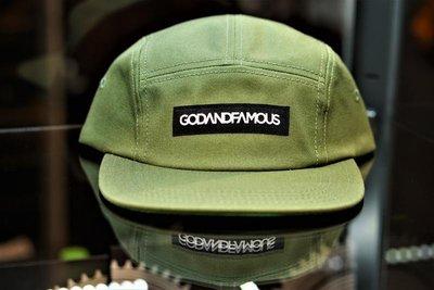 『FAITH GEAR』 god&famous 五片帽 / 單速車 FIXED GEAR 公路車 單車 板帽 / 帽子