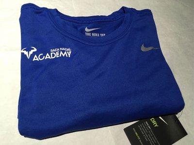 【T.A】國外限定 Nike Rafa Dry Tee 納達爾 Nadal 網球學院 限量聯名 Nadal 排汗訓練球衣 T恤 2021新款