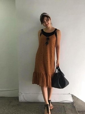 美國知名品牌 Minnetonka 絕版黑色串珠T字涼鞋 羅馬鞋 Grace 陳泱瑾 著用