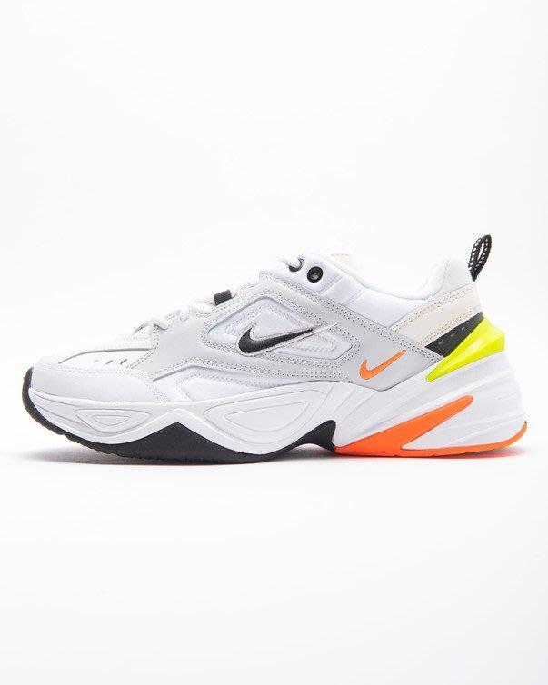 NIKE M2K TEKNO 白灰 黃橘 運動休閒 慢跑鞋 男鞋 AV4789-004 老爹 復古