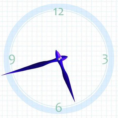 【鐘點站】T135105P SUN機芯專用 紫色指針 / 分針135 mm 時針105 mm / DIY 時鐘 掛鐘 鐘針