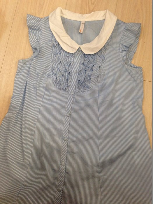 時尚媽咪必選品牌--奇妮  條紋清爽上衣