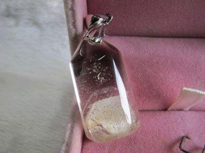 二手舖~ NO.230 天然白水晶墜子 首飾飾品