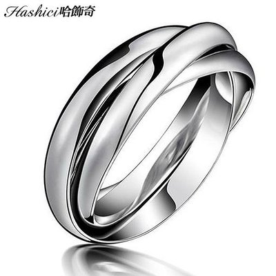 316L三生三世戒指 獨特造型不撞款 不生鏽抗過敏 單只價【BKS005】哈飾奇