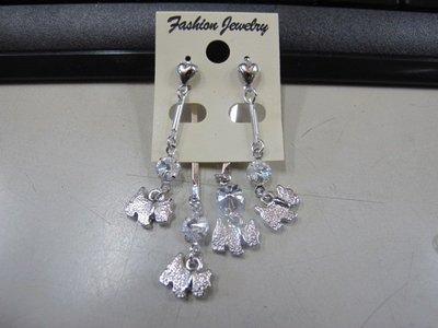 二手舖 NO.4525 時尚造型耳環 耳針 耳鉤 便宜賣 首飾飾品