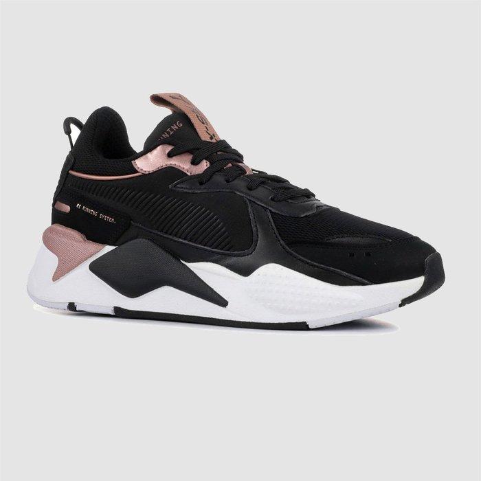 【QUEST】PUMA RS-X Trophy 370752 04 黑粉 黑金 玫瑰金 老爹鞋 女鞋