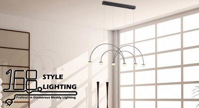 【168 Lighting】對稱拱橋《LED吊燈》AW 81163