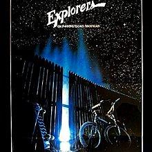衝向天外天-Explorers (1985)(摺式)原版電影海報