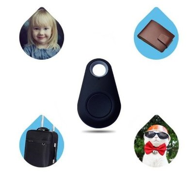 水滴形藍牙鑰匙尋找器 Key finder 寶寶定位器 錢包防丟【圓形鑰匙防丟定位器】-NFO