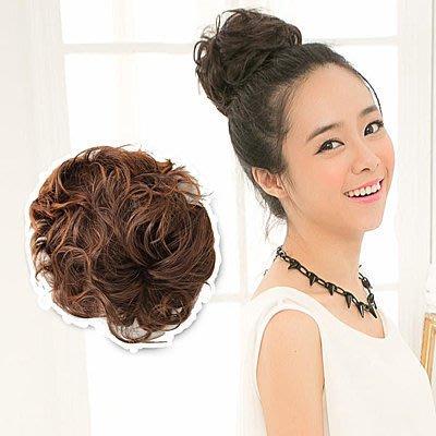 ☆雙兒網☆髮量多QQ捲鳥巢式髮包【DH50】道姑丸子頭髮包捲髮
