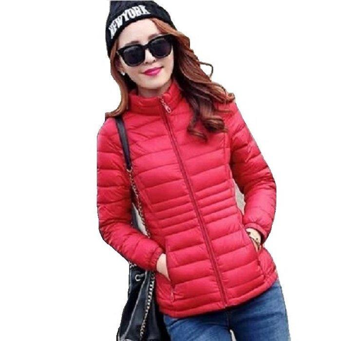 東大門平價鋪  新款女修身顯瘦羽絨棉服外套,韓版時尚輕薄大碼小棉襖
