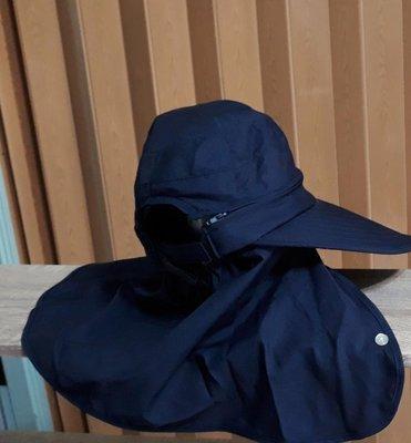 戶外賞鳥 釣魚 登山健行可戴戶外休閒抗UV防風防曬護頸遮陽帽登山帽 釣魚帽 帽子可拆帽頭成空心帽好戴好整理戶外休閒用品釣魚用品
