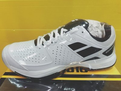 Babolat 男子 CUD PULSION ALL 網球鞋 紅土 硬地球場皆可使用 36S18337 白黑 現貨