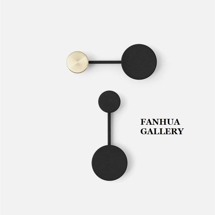 C - R - A - Z - Y - T - O - W - N 北歐丹麥設計師合金圓形黑色金色壁掛勾精致簡約衣帽包包臥室牆面時尚造型掛鉤壁掛牆面藝術裝飾品