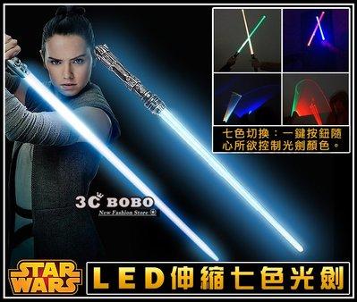 [免運費] STAR WARS 天行者的崛起 二合一激光劍 二合一聲光劍 發光激光劍 發亮光劍 角色扮演 電影周邊商品