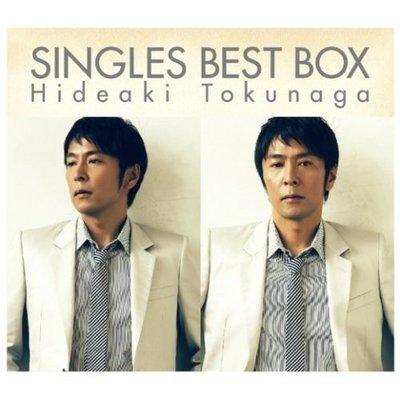 日版已絕版全新未拆 --- 徳永英明 SINGLES BEST BOX - 4CD+DVD