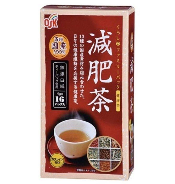 日本 小谷穀粉 OSK日本國產健康茶16