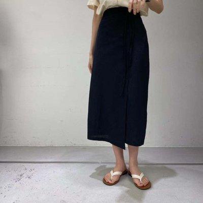 MoLin韓國新品女裝向日葵小姐2021韓國東大門代購posh ability百搭顯瘦半身裙060208