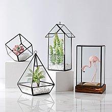 〖洋碼頭〗個性北歐幾何玻璃罩擺件房間 家居擺設客廳臥室服裝店軟裝裝飾品 ybj314