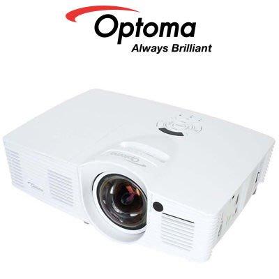 【新莊力笙音響】Optoma 奧圖碼 GT1080 Full HD 3D 劇院級短焦投影機