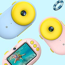 甜甜圈兒童防水相機 Doughnut Water Proof Children Camera