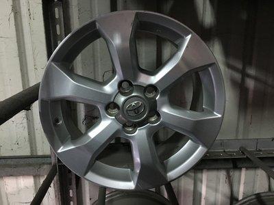 可單賣 豐田 RAV4原廠 5孔114.3 17吋鋁圈 IS200 GS300 INNOVA RX-300 PREVIA