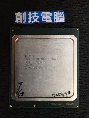 [創技電腦] Intel CPU 2011 腳位 型號:E5-1620 二手良品 實品拍攝 G00242